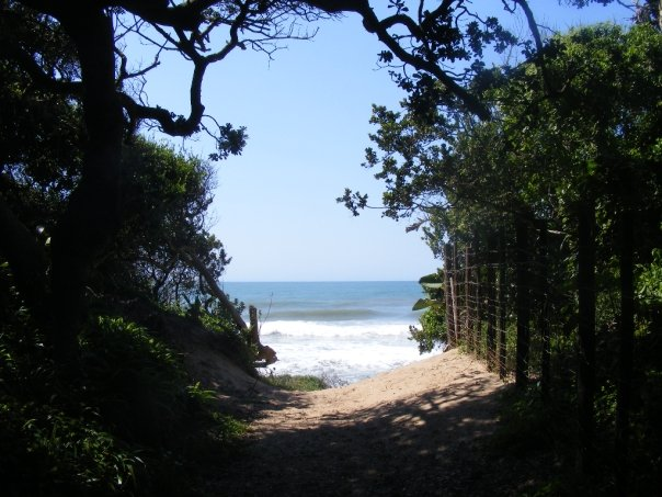 Path to Blythedale Beach from the House